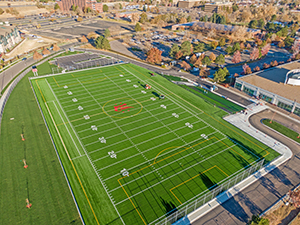 Our new soccer field