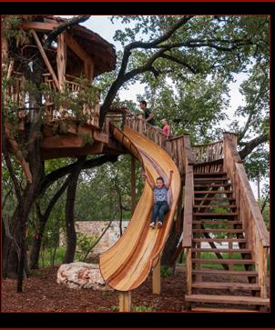Treehouse Slide