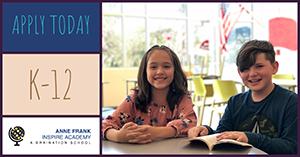 Apply Today - K-12 - Anne Frank Inspire Academy - A Braination School