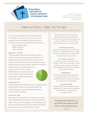 Impacting the Future Graphic