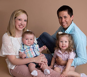 Mr. Engle and his family