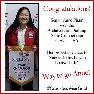 Way to go Anne!